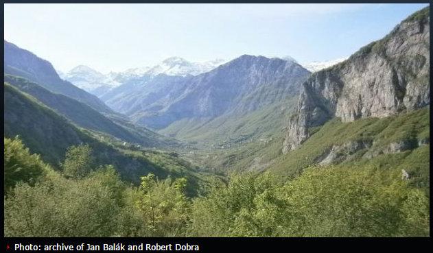 Northern Albanian mountains