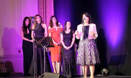"Mirela Sula, an inspirational Albanian role model, awarded with ""Inspiration Awards For Women 2015"""