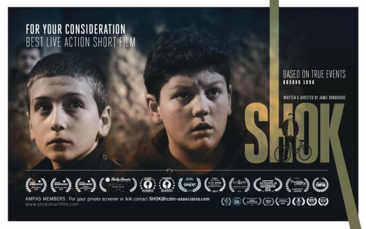 """Shok"" movie makes it to Oscars 2016"