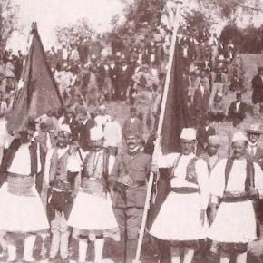 Foto nga manifestimi i Lidhjes se Prizrenit, 1912