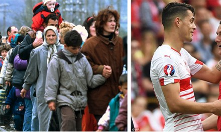 Albanian footballers make headlines in Euro 2016, on the 17th anniversary of Kosovo liberation