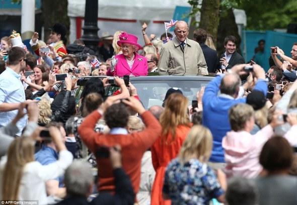 Mbretëresha Elizabetë II, feston ditëlindjen