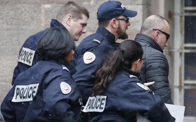 Protestë para ambasadës franceze në Londër, në lidhje me arrestimin e Ramush Haradinajt, sot në ora 2