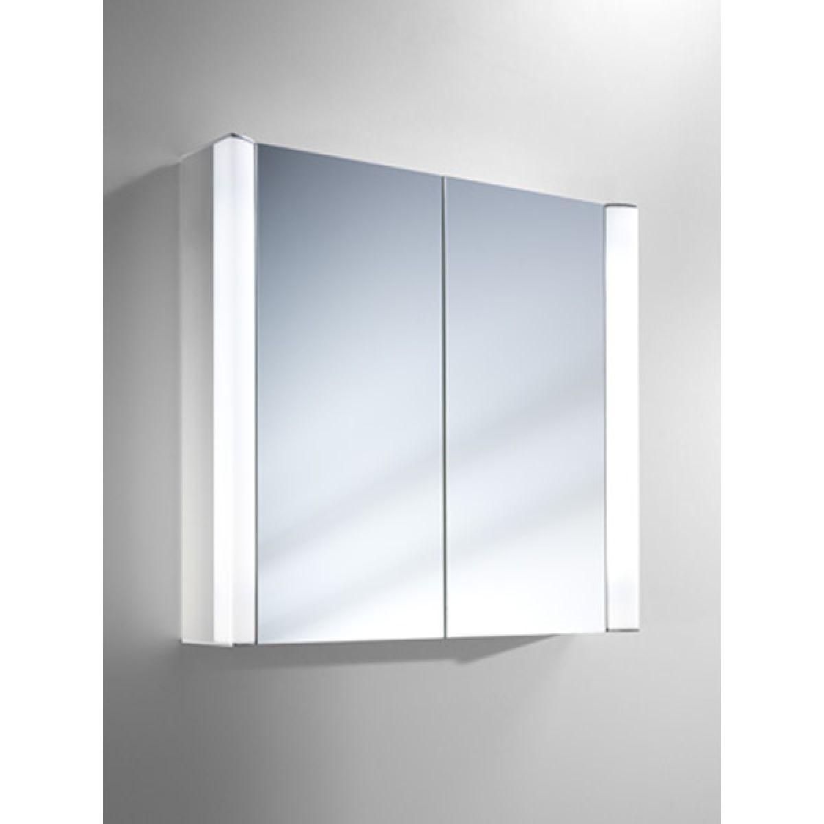 Bathroom Cabinets 700mm illuminated mirror bathroom cabinets