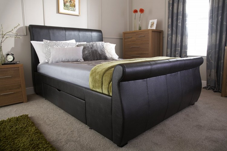 SaveEnlarge · Faux Leather Storage Bed Lb1051 & Faux Leather Storage Bed - Listitdallas