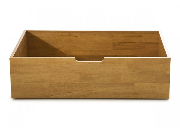 Serene Macy Under Bed Drawers Oak Finish 4 Drawers By