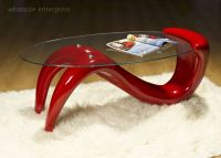 RED Wave Coffee Table