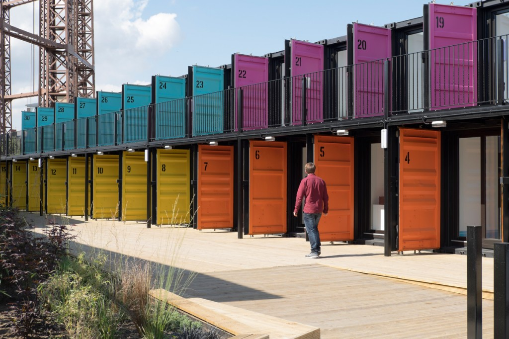 The Estate Office Shoreditch Containerville Opens For