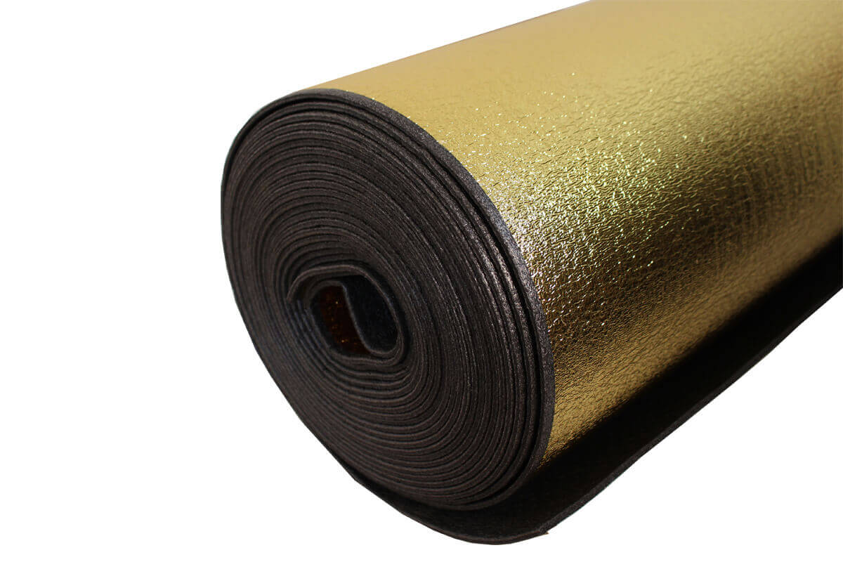 Cushion Acoustic Gold Wood Flooring Underlay
