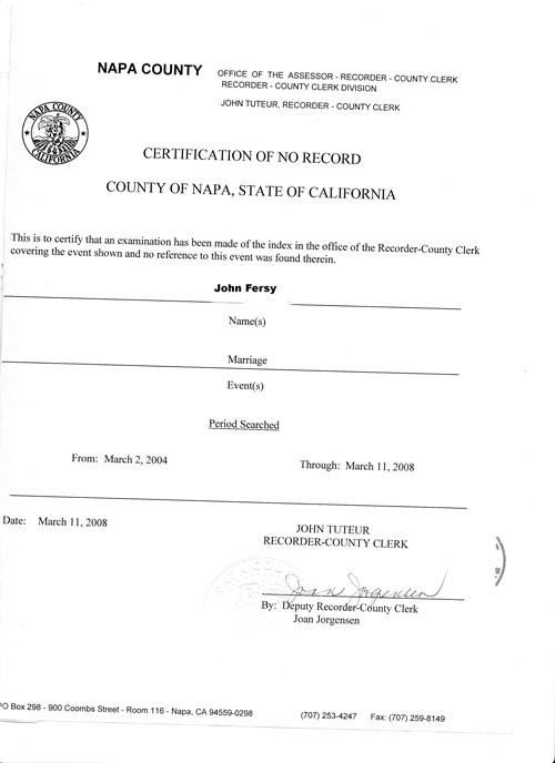 Ukrainian certified translation of Single status affidavit/No record