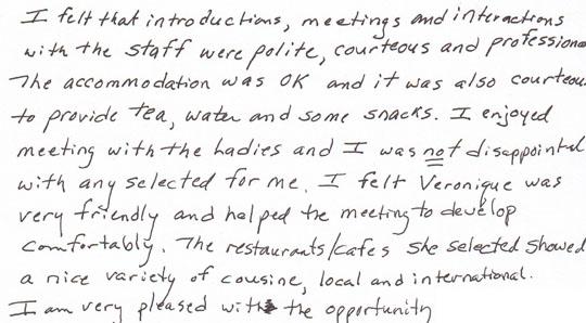 Brides Ezine Testimonial Letters Letters Wild Anal