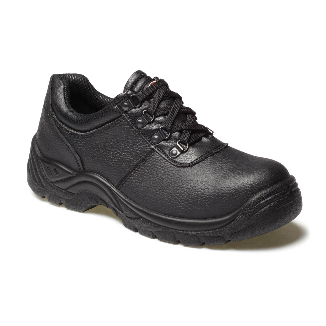 Dickies Unisex Clifton Black Leather Budget Super Safety