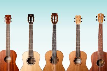 baritone ukulele roundup kala ohana ukes new gear