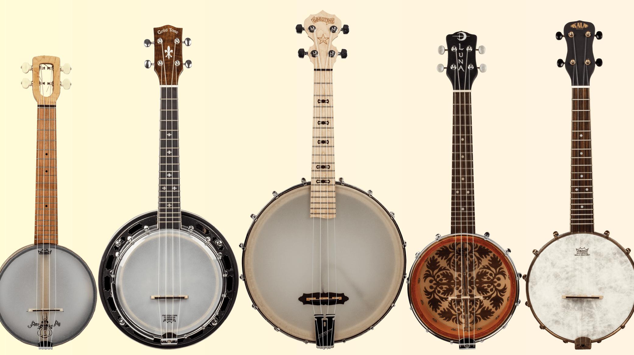 gear roundup  roaring quintet  banjo ukuleles ukulele