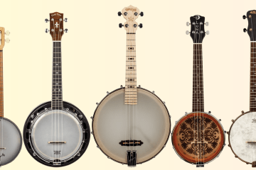 Banjo Ukulele Roundup Gear Review Ukes Ukulele Magazine New Gear