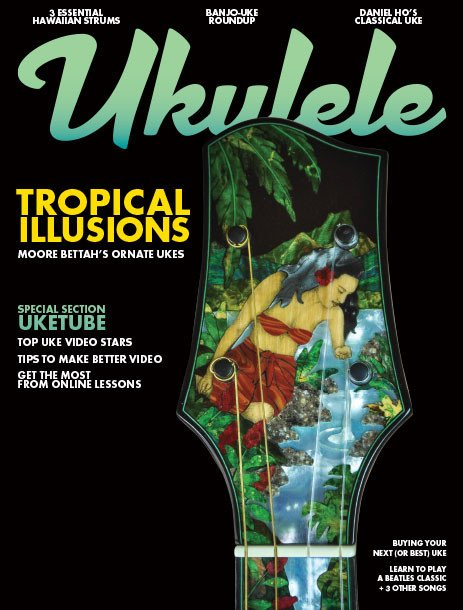 Ukiulele Magazine Fall 2016 Issue YouTube Ukes Daniel Ho Mo Bettah Ukes Hawaiian Strums Banjo-Ukes