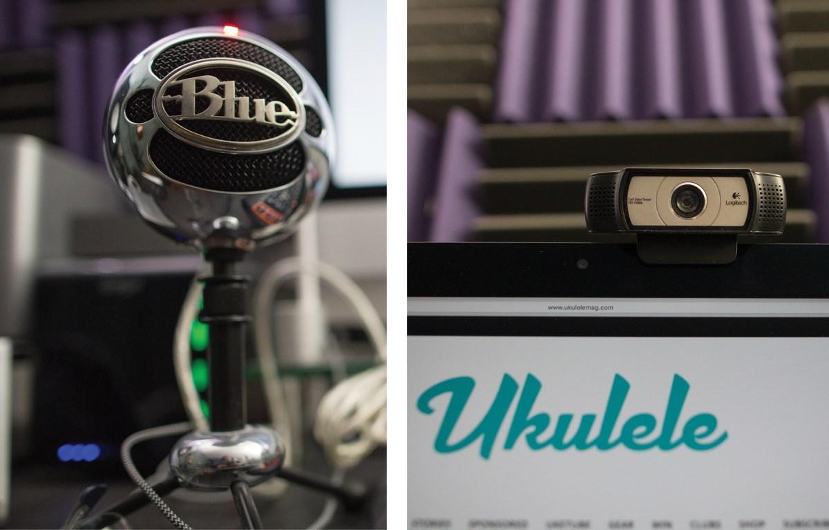 Mic Webcam Online Ukulele Learning Essentials- Get the Most out of Your Online Lessons Ukulele Magazine Sarah Maisel