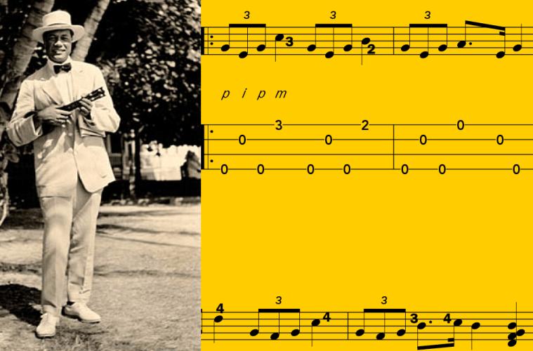 Lesson Gods of Uke Ernst Ka'ai Ukulele Magazine Hawaiian Music Uke Notation