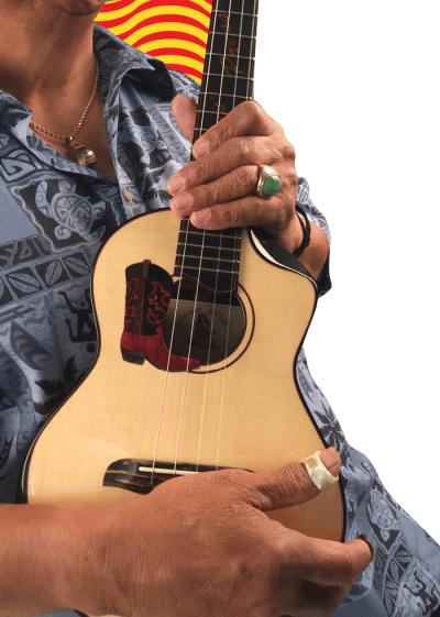 Led Kaapana Ukulele Ledward Hawaii Uke Music Chuck Moore Ukulele