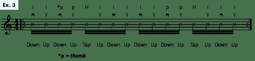 Ukulele Lesson Rumba Strum uke tips Daniel Ward ex3