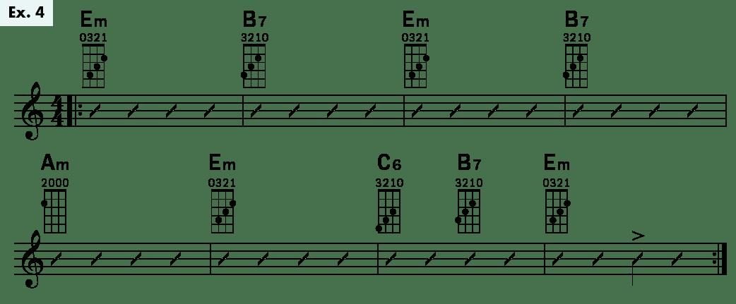 Ukulele Lesson Rumba Strum uke tips Daniel Ward ex4