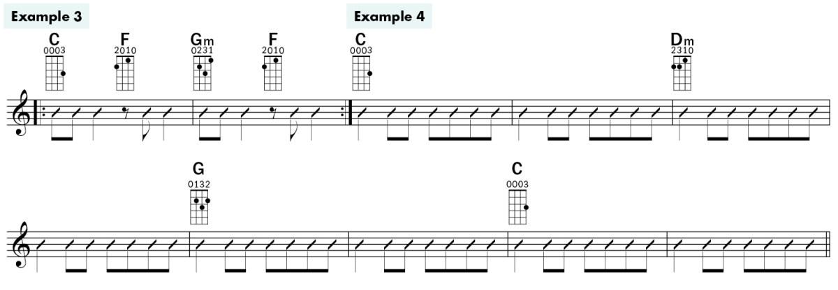 jim d'ville ukulele basics lesson chords example3-4