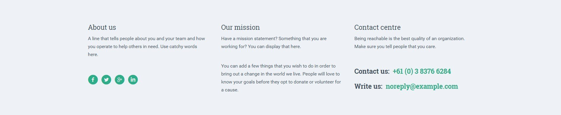 Celebrate the Joy of Giving with a Touching Landing Page for Charity