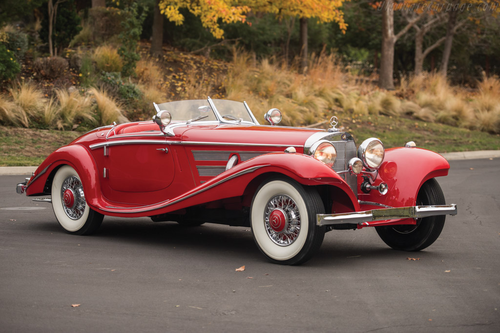 Mercedes Sports Cars Wallpapers 1937 1939 Mercedes Benz 540 K Spezial Roadster Images