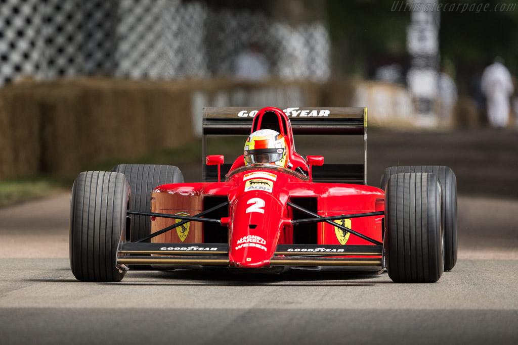 Fomula 1 Cars Wallpapers 1990 Ferrari 641 F1 Chassis 120 Ultimatecarpage Com