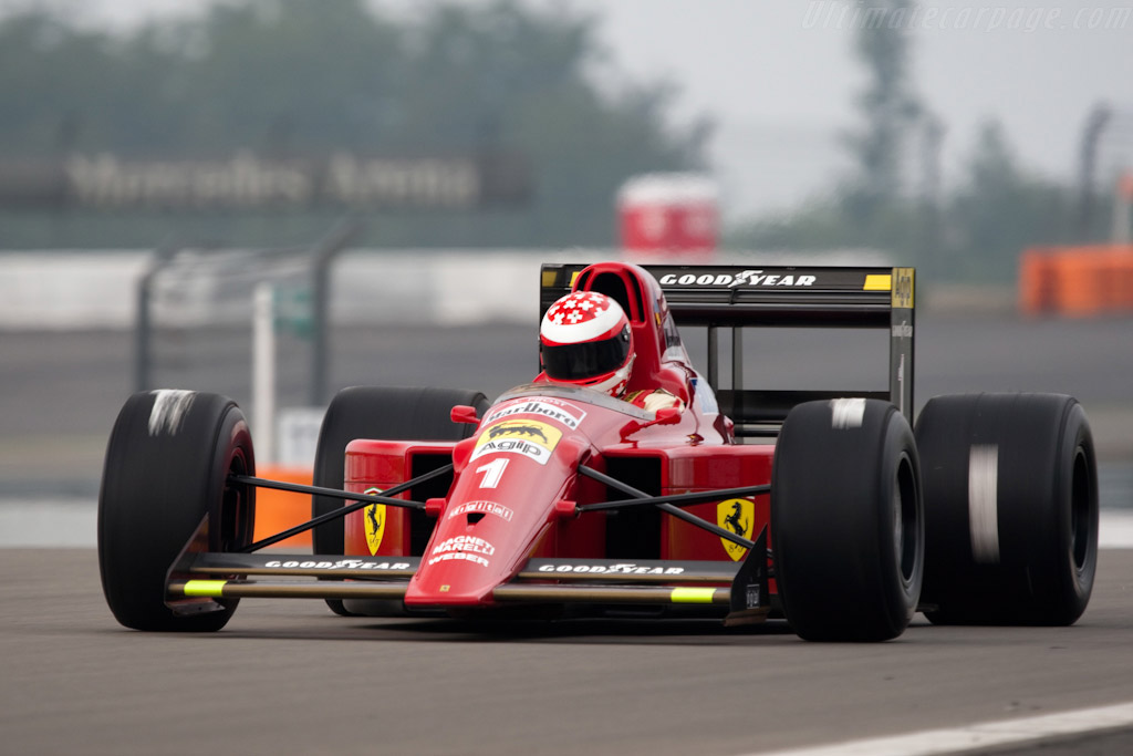 Indy Car Wallpaper Hd 1990 Ferrari 641 F1 Images Specifications And Information