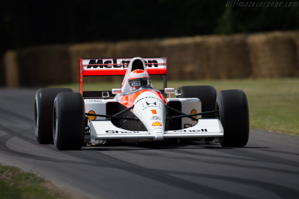 Great Car Wallpapers 1991 Mclaren Mp4 6 Honda Images Specifications And