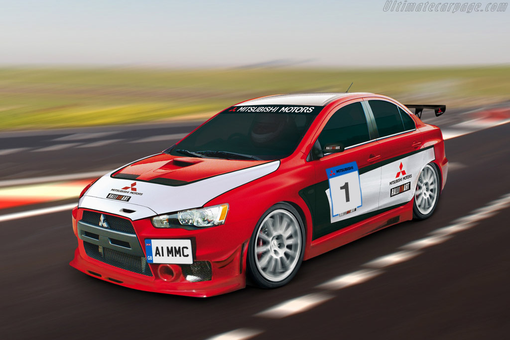 Hd Future Cars Wallpapers 2008 Mitsubishi Lancer Evo X Race Car Images