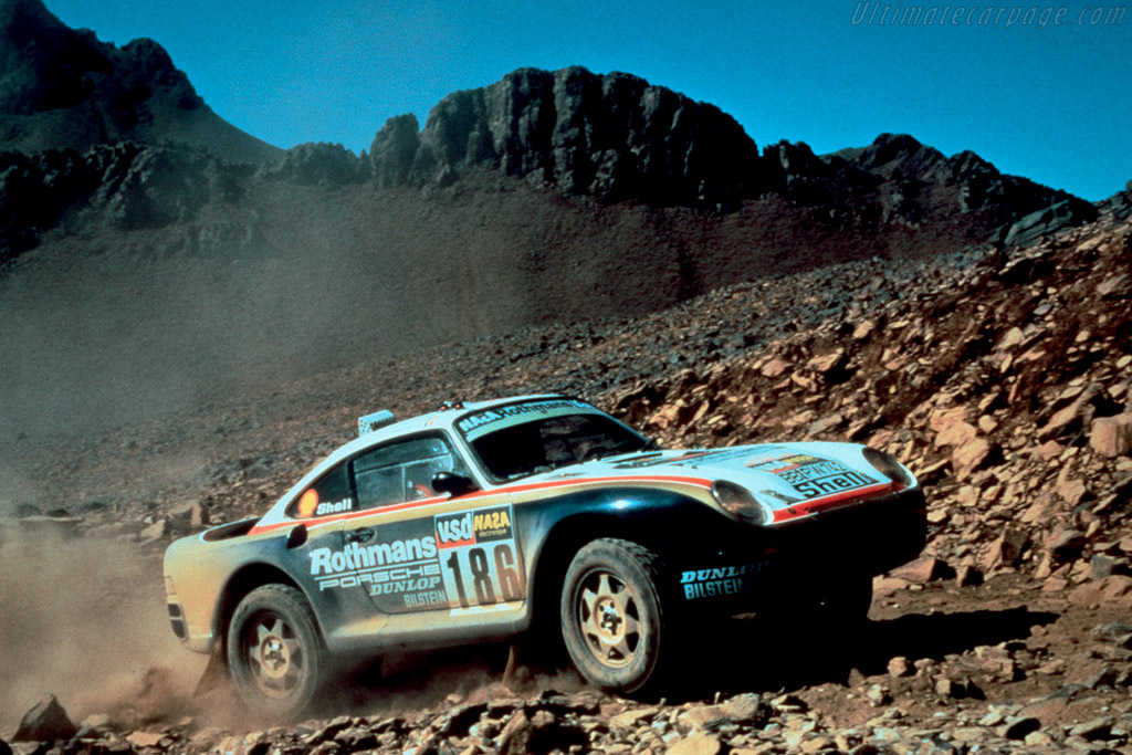 Group B Rally Cars Wallpapers 1985 1986 Porsche 959 Dakar Images Specifications