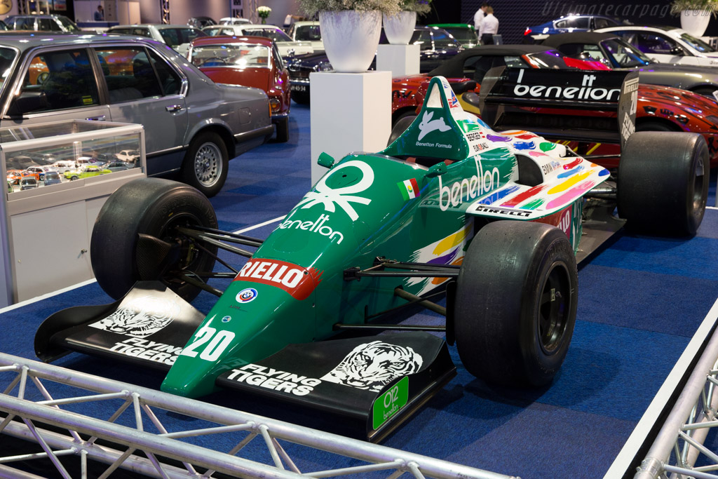 Future Cars 2018 Wallpapers 1986 Benetton B186 Bmw Images Specifications And