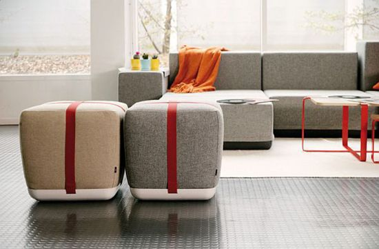 15 Creative Living Room Seating Ideas Ultimate Home Ideas - poufs for living room