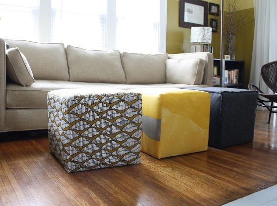 50 Creative DIY Ottoman Ideas Ultimate Home Ideas - living room ottoman