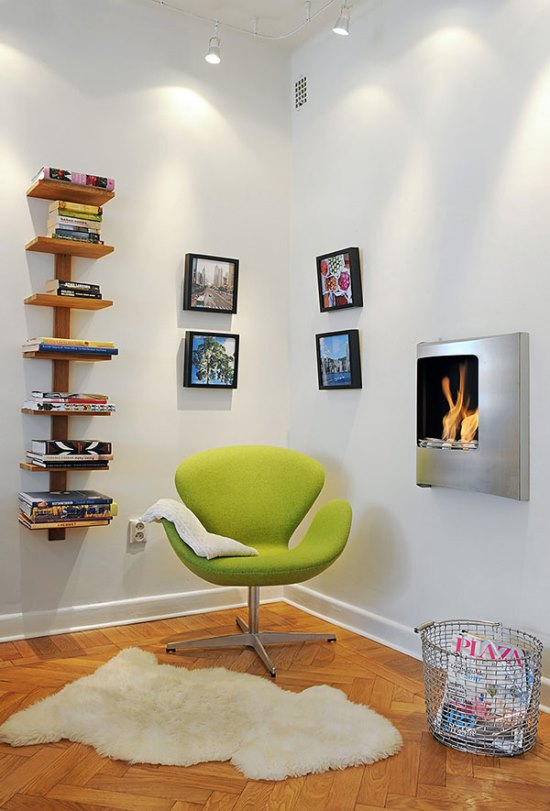 45 Smart Corner Decoration Ideas For Your Home - living room corner ideas