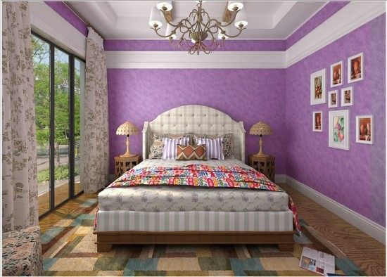 Black And White Wallpaper Bedroom Ideas 50 Purple Bedroom Ideas For Teenage Girls Ultimate Home