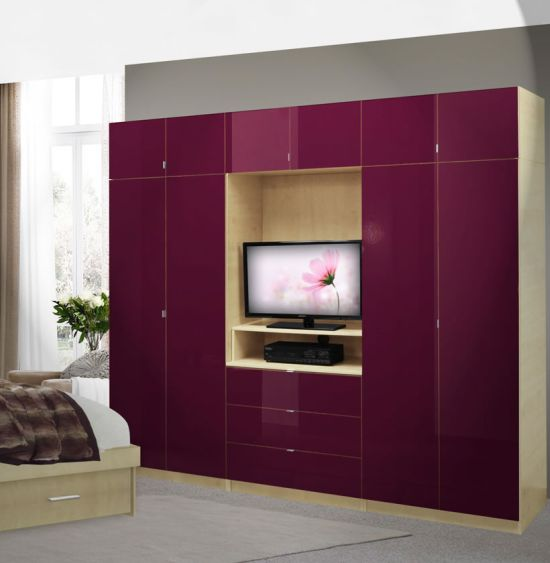 55 Cool Entertainment Wall Units For Bedroom - designer wall unit