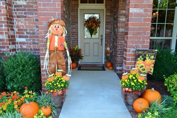 Fall Scenes Wallpaper With Pumpkins Front Porch Decorating Ideas For Fall Ultimate Home Ideas