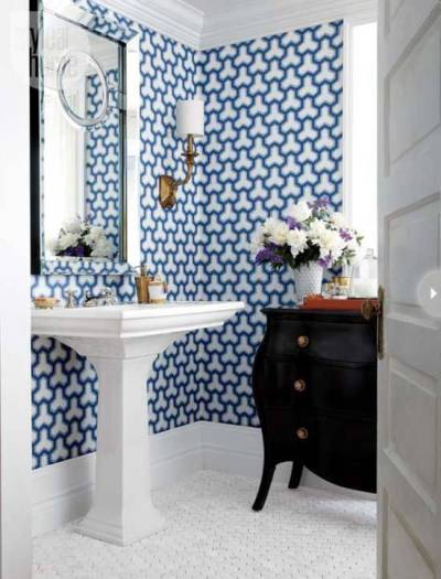 18 Tips For Rocking Bathroom Wallpaper