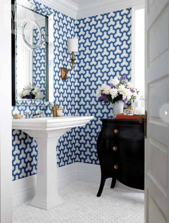 tips rocking bathroom wallpaper for bathrooms