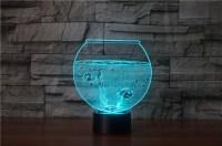 Fish Bowl 3D LED Lamp