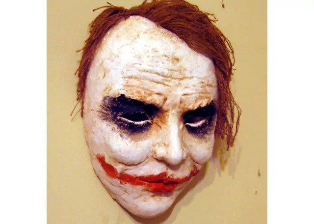 Make A Joker Mask With Paper Mache Clay Ultimate Paper Mache