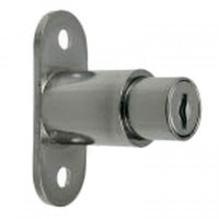 Sliding glass door lock / Showcase lock with two keys