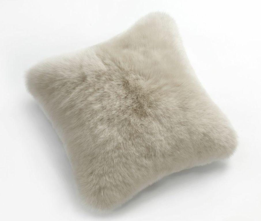 FIBRE by AUSKIN Sheepskin Pillows 20 Ivory  Ultimate