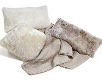 Sheepskin Pillows 22 Australian Shearling Short Wool ...