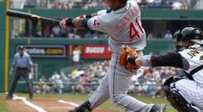 Cleveland Indians:  Carlos Santana Signs Extension