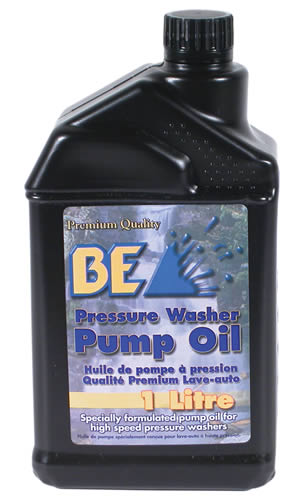 Pressure Washer Maintenance and Pump Oil