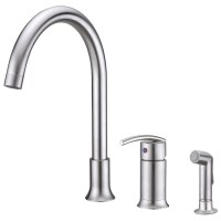 Sweep Collection Single-Handle Kitchen Faucet With Side ...